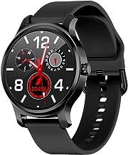 Otti-3S Smartwatch Fitness Tracker Monitor de ritmo cardíaco Cómo hacer / contestar el teléfono ALTAVOZ Notificaciones Facebook / whatsapp IP67 Impermeable Android / IOS (Negro)