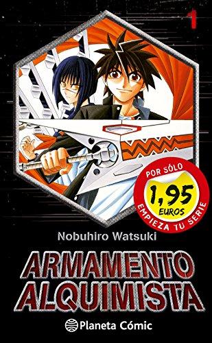 MM Armamento Alquimista  nº 01 1,95 (Manga Manía)
