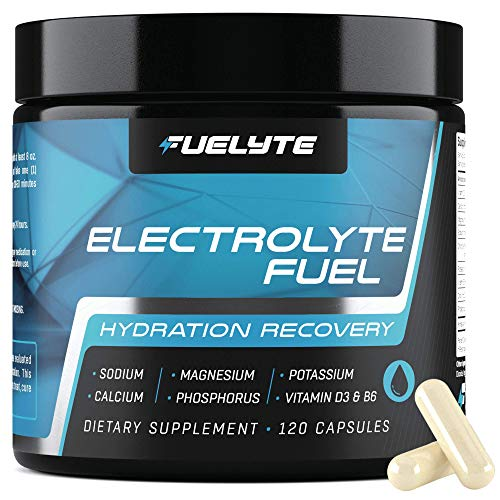 Electrolyte Pills - Salt Tablets Electrolyte for Hydration, Electrolytes Balance, Muscle Recovery - 120 Salt Pills