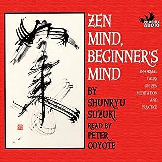 Zen Mind, Beginner's Mind audiobook cover art