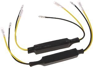4PCS 12V-24V 20W Moto LED Clignotant Indicateur De Charge R/ésistance LED D/écodeur EBTOOLS Moto LED D/écodeur
