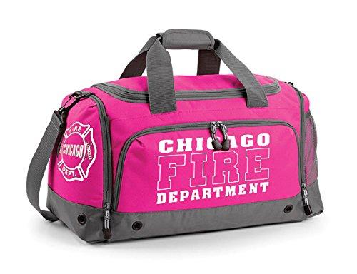 Chicago Fire Dept. - Sporttasche in pink