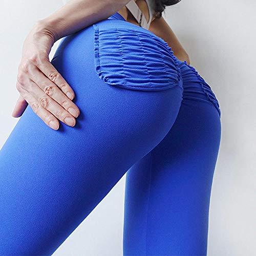 Leggings Damen Hose Frauen Fitness Push Up Leggings Hohe Taille Elastic Workout...