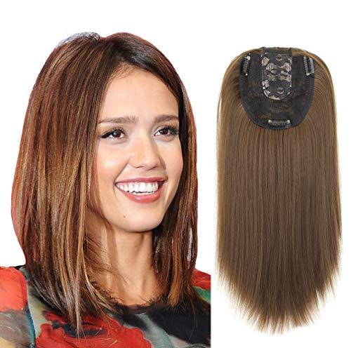 27/613 Barrette de cheveux raides avec base monobloc pour femme 55,9 cm