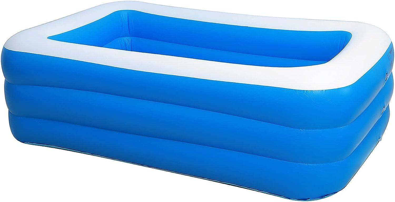 PPLAS 18 0CM 2/3 Piscina Inflable para Adultos para Adultos niños niños Piscina Piscina bañera bañera al Aire Libre Interior Piscina Grande (Color : 3 Layers)