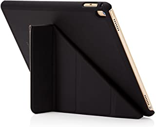 "Pipetto Origami iPad Case Pro 9.7"" with 5 in 1 Stand & auto Sleep/Wake Function Black"