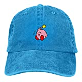 Photo de Kirby's Adventure Bonnet de soleil unisexe confortable et respirant Bleu