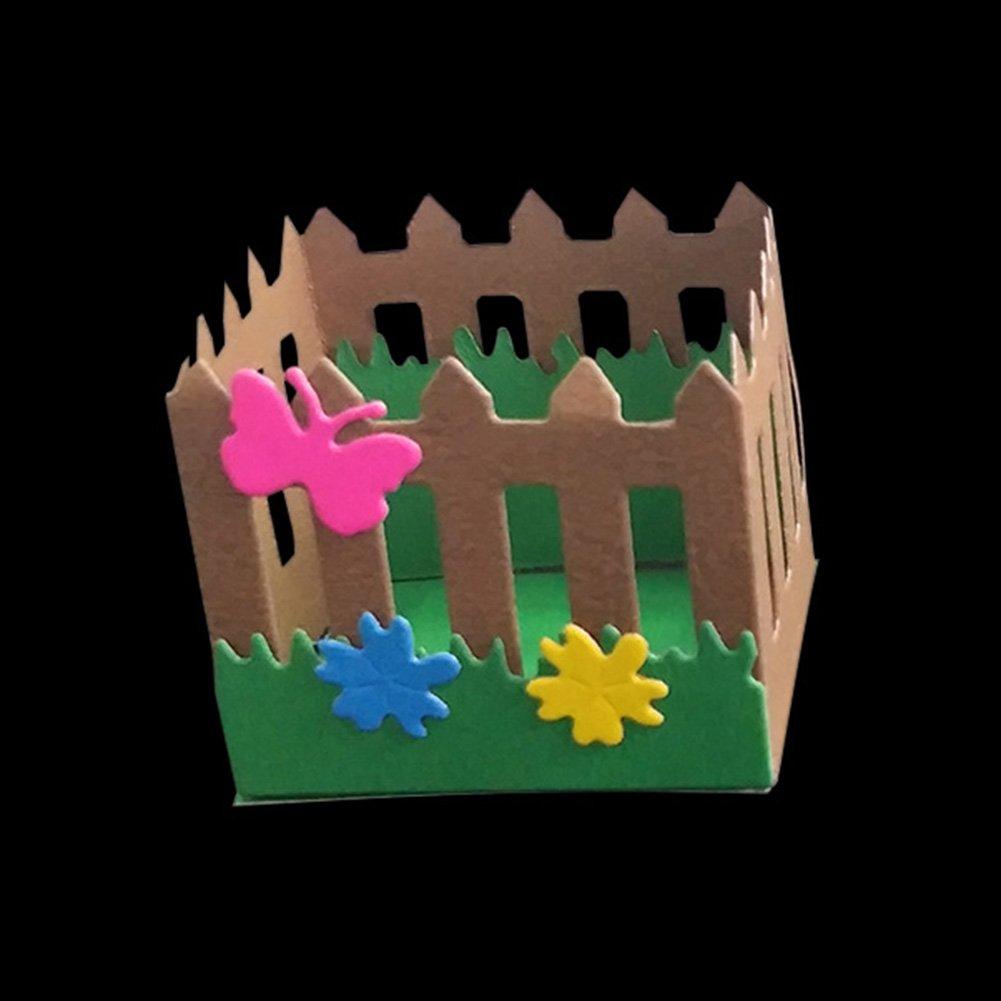 plata Huhuswwbin Troquel de corte mariposa troquelado plantilla DIY scrapbooking papel tarjeta cortador decorativo herramienta