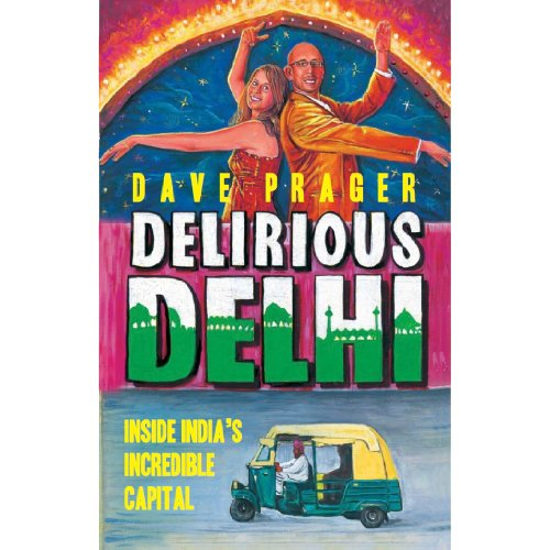 Delirious Delhi audiobook cover art