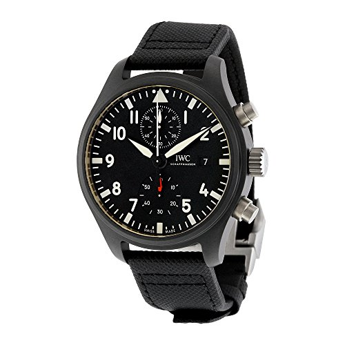 IWC Pilot's Top Gun Automatic Chronograph Mens Watch IW389001