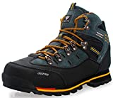 Weweya Hombres Botas de Senderismo Zapatos de Trekking resbaladizo Caminar Transpirable Zapatilla de...
