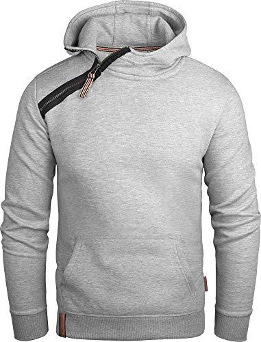 Grin&Bear Bluza z kapturem męska bluza z kapturem z ukośnym zamkiem błyskawicznym GEC435