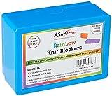 KNITPRO Bloques de Punto de Arco Iris PK20, Colores Variados, Assorted