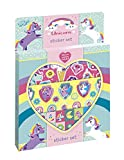 Set di adesivi Unicorno: crea il tuo magico mondo unicorno con diversi motivi come unicorni, diamanti e arcobaleni
