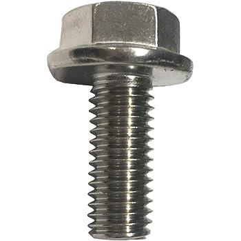 25 Metric Hex Flange Head Flange Bolts 8 X 1.25 X 25mm Clipsandfasteners Inc