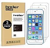 ivoler [Pack de 3] Verre Trempé pour Apple iPod Touch 7/6 / 5 (7e, 6e et 5e Génération), Film Protection écran en...
