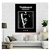 nr The Weeknd Trilogy Music Poster Leinwand Gemälde Poster