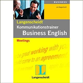 Meetings (Langenscheidt Kommunikationstrainer Business English)                   Autor:                                                                                                                                 O'Brien Browne                               Sprecher:                                                                                                                                 Jenny Funnell,                                                                                        Liza Ross,                                                                                        James Goode                      Spieldauer: 1 Std. und 6 Min.     5 Bewertungen     Gesamt 4,8
