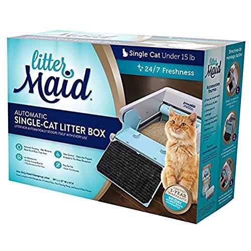 LitterMaid - Caja de arena para gatos, autolimpieza, Versión 3.1