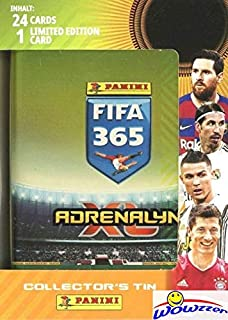 2021 Panini Adrenalyn XL FIFA 365 EXCLUSIVE Factory Sealed Collectors TIN with 24 Cards Plus SPECIAL LIMITED EDITION Card!...