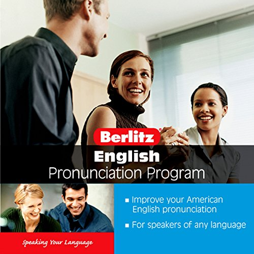 English Pronunciation Program audiobook cover art