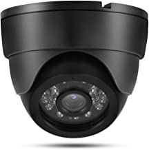 LED Camera, Built-in IR-Cut Filter 360 Degree Adjustable Night Vision 120 Wide-Angle Vision Security Camera, for Home Car(...