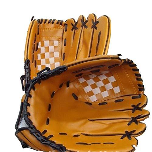 XYHX Outdoor Sports Baseball Handschuhe, 10.5PVC Baseball Handschuh +24