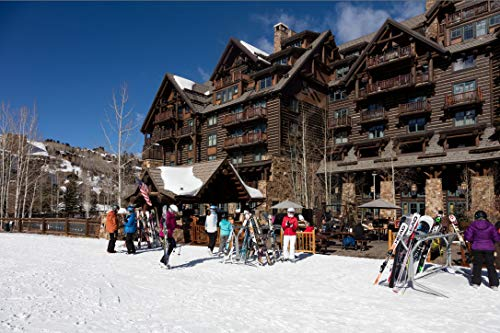 Vintography 24 x 36 Giclee Print ofThe Ritz-Carlton Bachelor Gulch Luxury Hotel in The Beaver Creek Resort Area of Avon Colorado west of Vail t30 2016 Highsmith