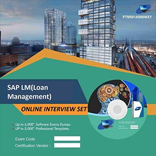 SAP LM(Loan Management) Complete Unique Collection Interview Video Training Solution Set (DVD)