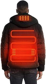 comprar comparacion Chaleco con Calefacción USB, Ropa Abrigada de Invierno,Calentador Almohadilla térmica Esquí Chaqueta Térmico Chalecos con ...