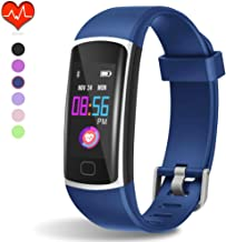 Fitness Tracker, Waterproof Activity Tracker with Heart Rate Monitor and Sleep..