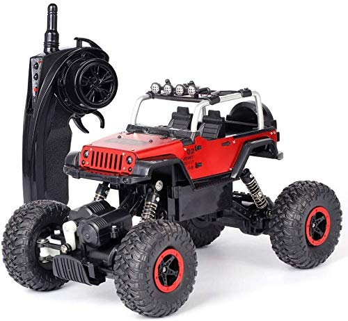ADLIN Außen Educational Toys2.4Ghz Super-kollisionssicherere Fernbedienung Auto-Akku, High-Speed-Buggy Monster Truck Crawler, Einzelradaufhängung