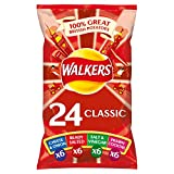 Walkers 24er-Pack Classic Variety Chips 600g