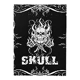 ATOMUS Skulls & Bones Tattoo Design libro 76 páginas A4 Tattoo plantilla Manuscript libro Manual (76 páginas)