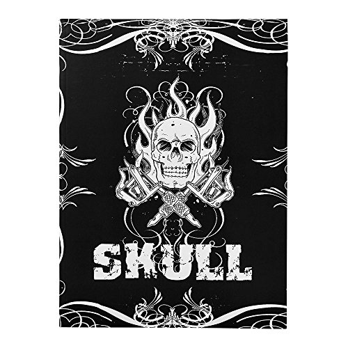 ATOMUS Skulls & Bones Tattoo Design Buch 76 Seiten A4 Tattoo Schablone Manuskript Buch Handbuch (76 Seiten)