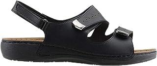 Jump 21890 Günlük Büyük Numara Bayan Sandalet Terlik Siyah