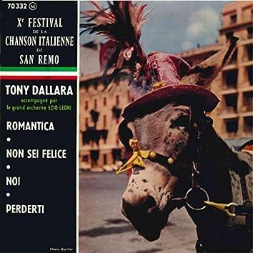 Tony Dallara - X° Festival De La Chanson Italienne de San Remo