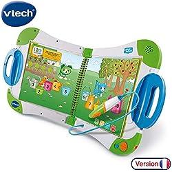 Livre Interactif Enfant /&  Mon Premier imagier bilingue MagiBook Starter Pack Vert VTech
