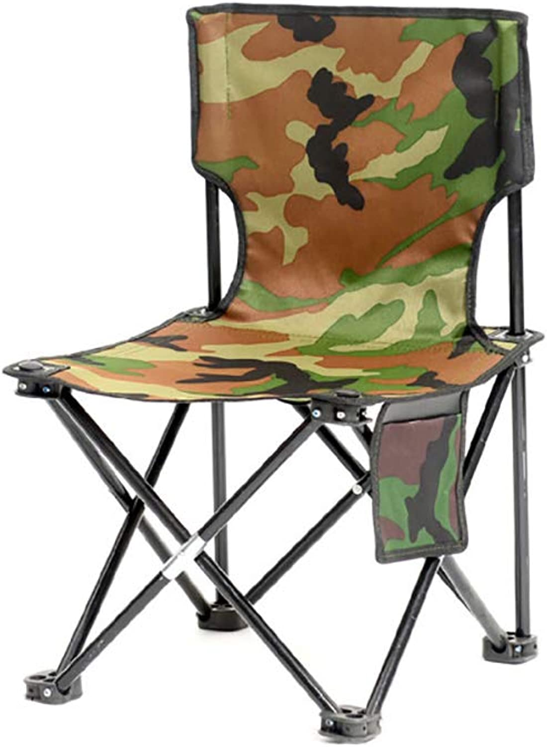 Heavy Duty Camping Folding Chair, Portable Camping Chair 600d Oxford Fabric with Storage Pocket Carry Bag Included,Supports 300 Lbs