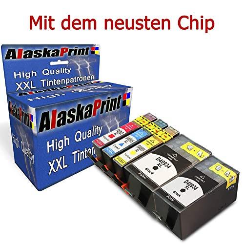 WOW 5X Druckerpatronen komp. mit HP 934 XL 934XL 935 XL 935XL Multipack mit Officejet Pro 6830 6820 6230 6812 6815 6835 Patronen Tintenpatronen