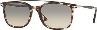 PO3173S Calligrapher Edition Sunglasses Grey Beige Brown Havana w/Grey Gradient Brown Lens 54mm 105732 PO 3173-S PO3173-S PO 3173S