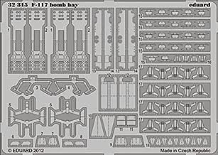 F-117 Bomb Bay for TSM 1/32 Eduard by Eduard