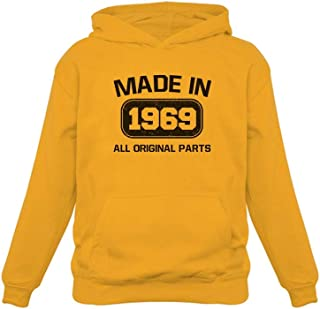 Tstars - 50th Birthday Made in 1969 All Original Parts Women Hoodie