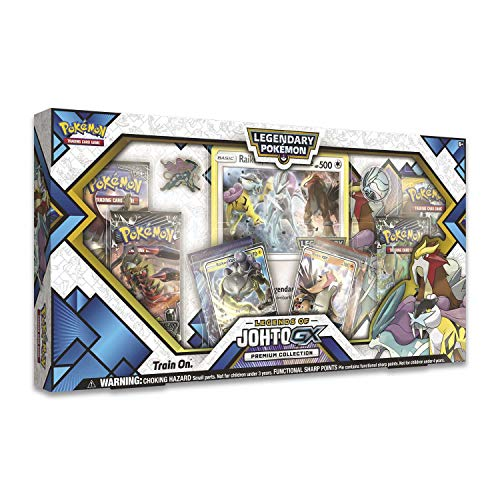Pokemon TCG: Legends of Johto Gx Premium Collection Box   6 Booster Pack