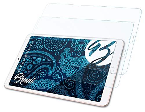 Bruni Schutzfolie kompatibel mit Xiaomi Mi Pad 4 Plus Folie, glasklare Bildschirmschutzfolie (2X)