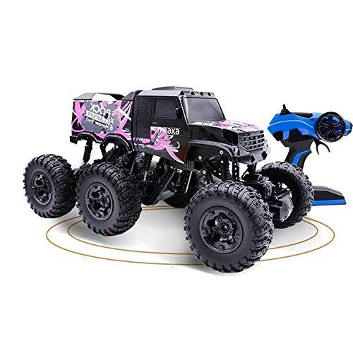 Moerc Coche teledirigido 1: 8 6WD 2.4G Seis Escalada Rueda Bigfoot RC Rock Crawler RTR Coche a Campo través Súper vehículo Grande R/C Monster Truck Sellado Estructura de la Caja de Engranajes