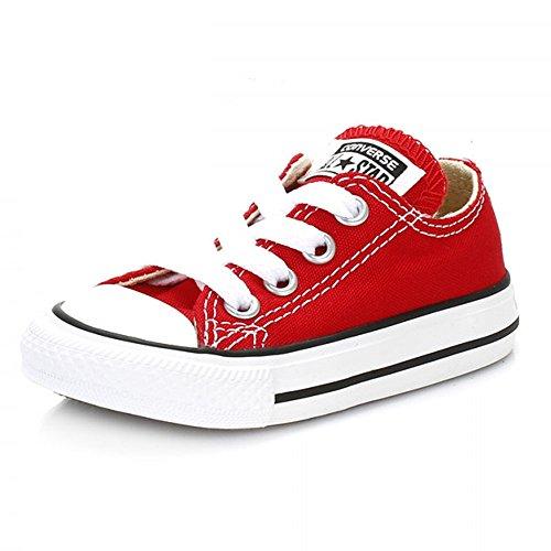Converse - Chucks Ctas Hi Ox 3J236 - Red, Taglia:31 EU