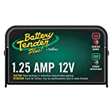 Battery Tender Plus Charger and Maintainer: 12V, 1.25 Amp Powersport...