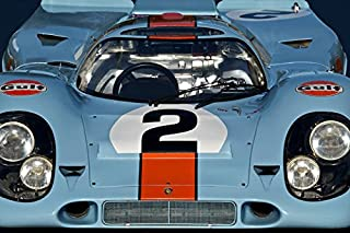 Imagekind Wall Art Print Entitled 1969 Porsche 911 917K by Dave Koontz   16 x 11