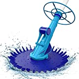 AIPER SMART Suction Pool Vacuum Cleaner, Climb Wall Suction-Side Cleaner Automatic Pool Sweeper Kreepy Krawly for In-ground Swimming Pools with 20 Hoses Up to 32ft